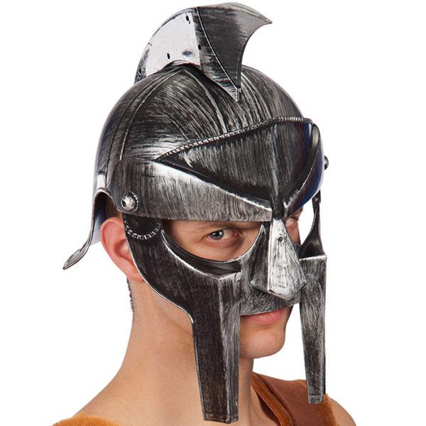 Spartan Hjälm Deluxe Silver thumbnail