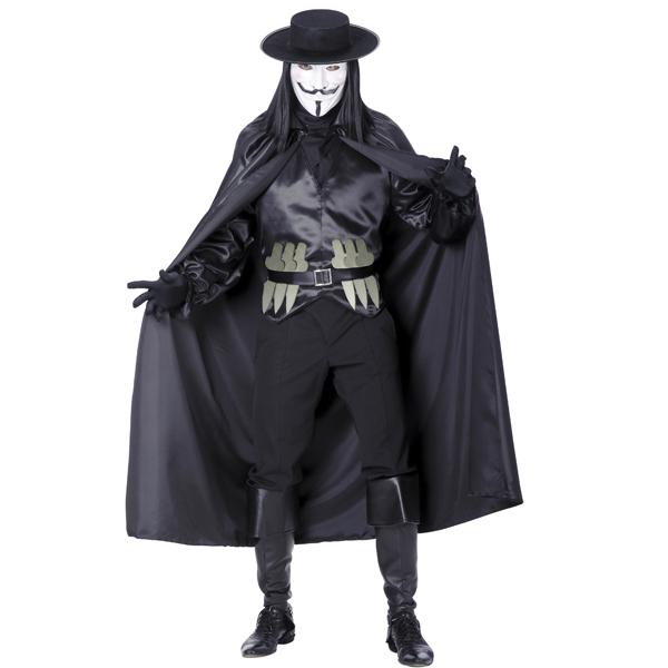 Maskeraddräkter - V for Vendetta Maskeraddräkt Budget (Medium)