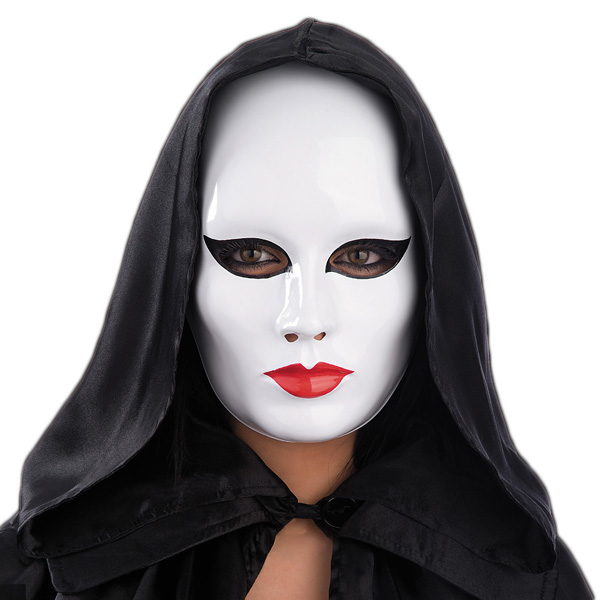 Vit Ansiktsmask