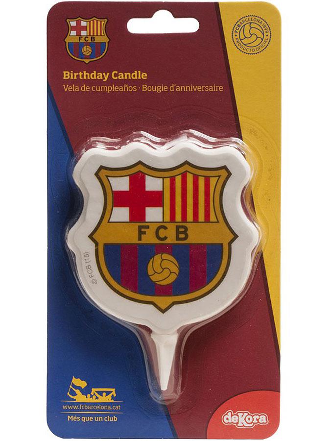 F.C. Barcelona Tårtljus