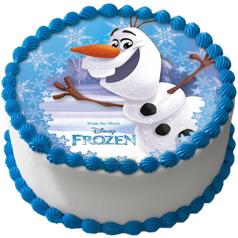 Frost Tårtbild Sockerpasta B