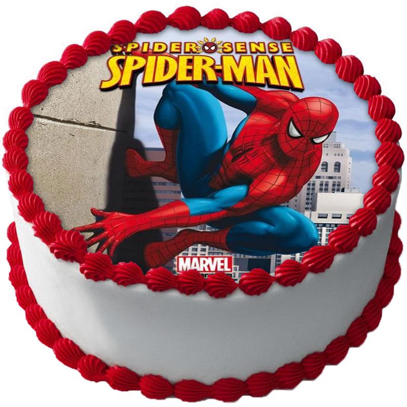 Spiderman Tårtbild C