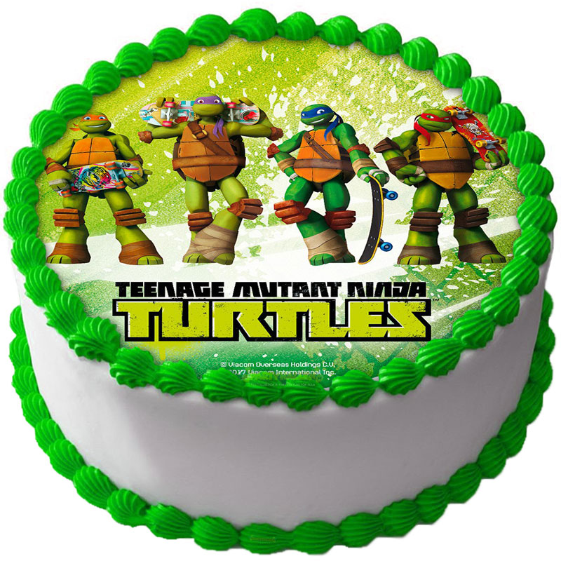 Teenage Mutant Ninja Turtles Tårtoblat B