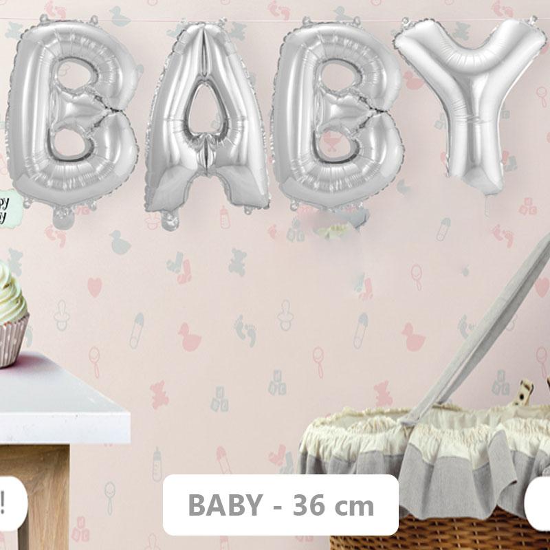 Baby Shower Ballonger Folie