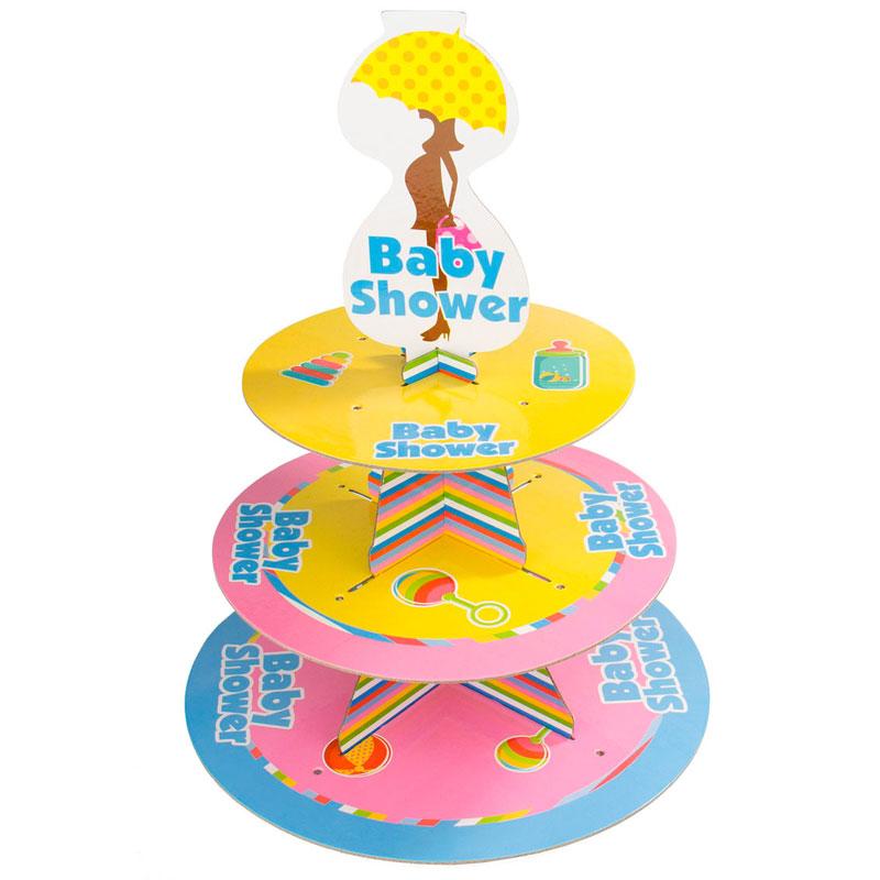 Baby Shower Muffinsställ
