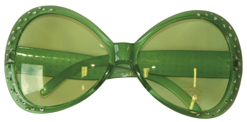 Gröna Glasögon med Bling