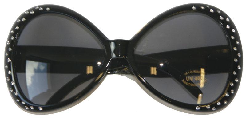 Svarta Glasögon med Bling