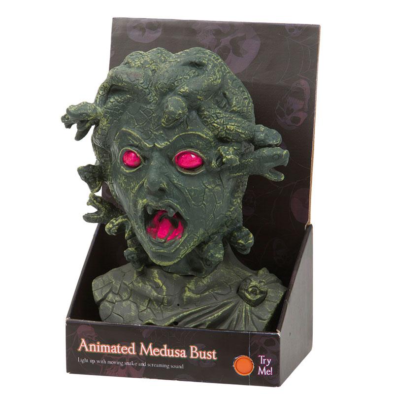 Animerad Medusa