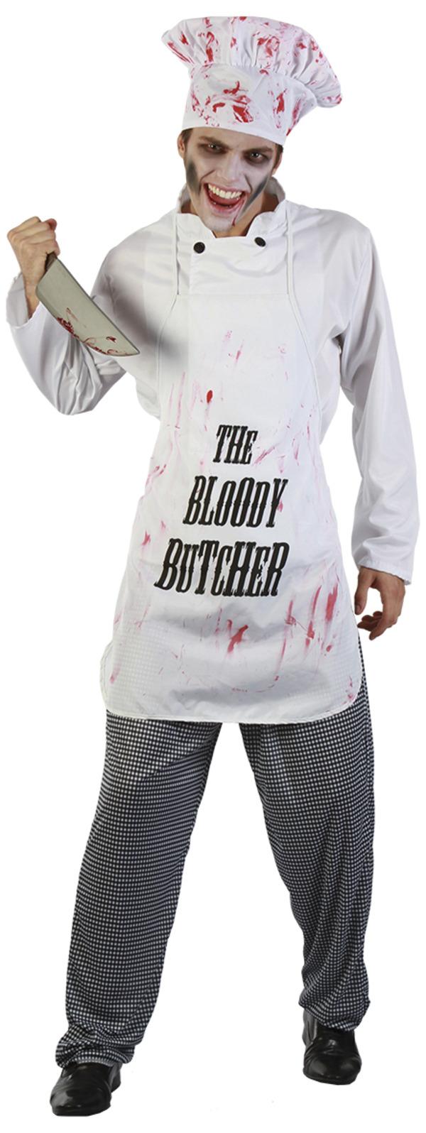 Bloody Butcher Maskeraddräkt