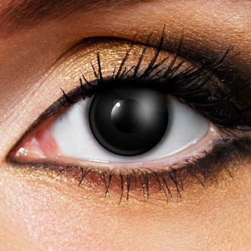 linser som täcker hela ögat