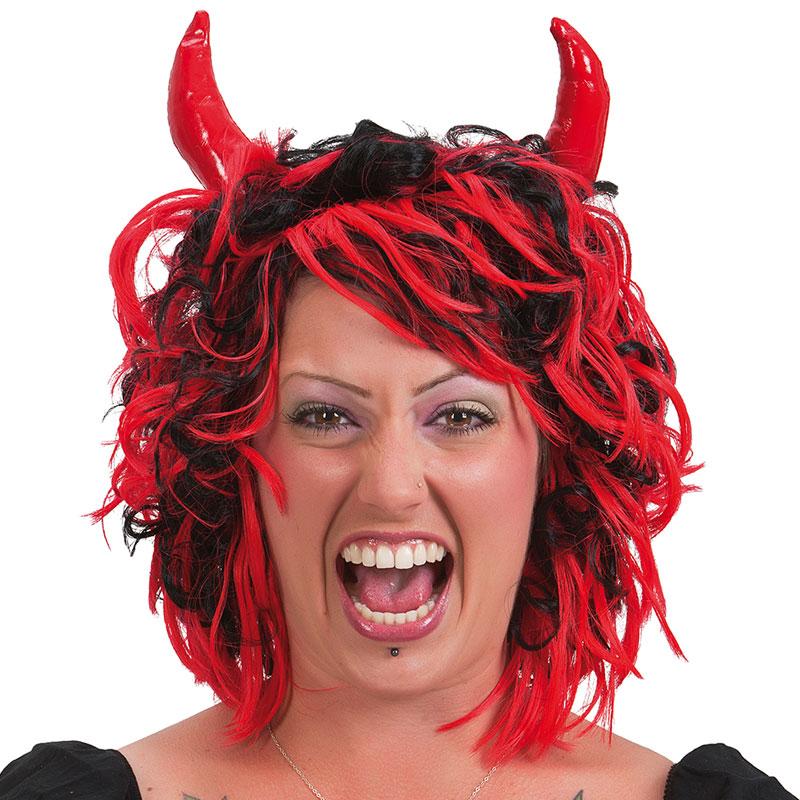 Djävulsperuk med Horn
