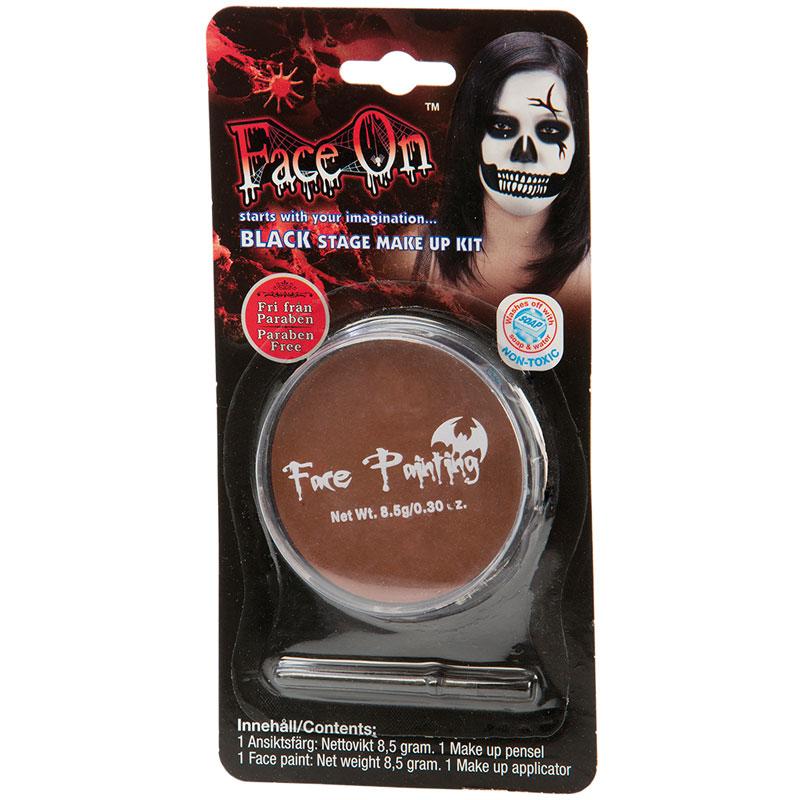Face-On Brun Ansiktsfärg