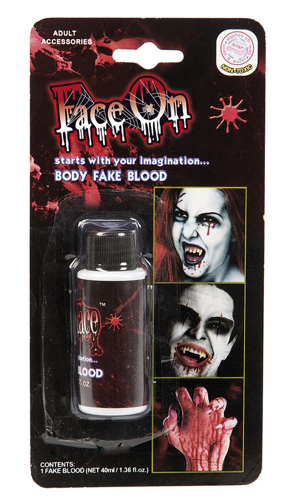 Face-On Fake Blod