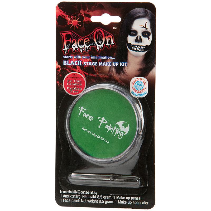Face-On Grön Ansiktsfärg