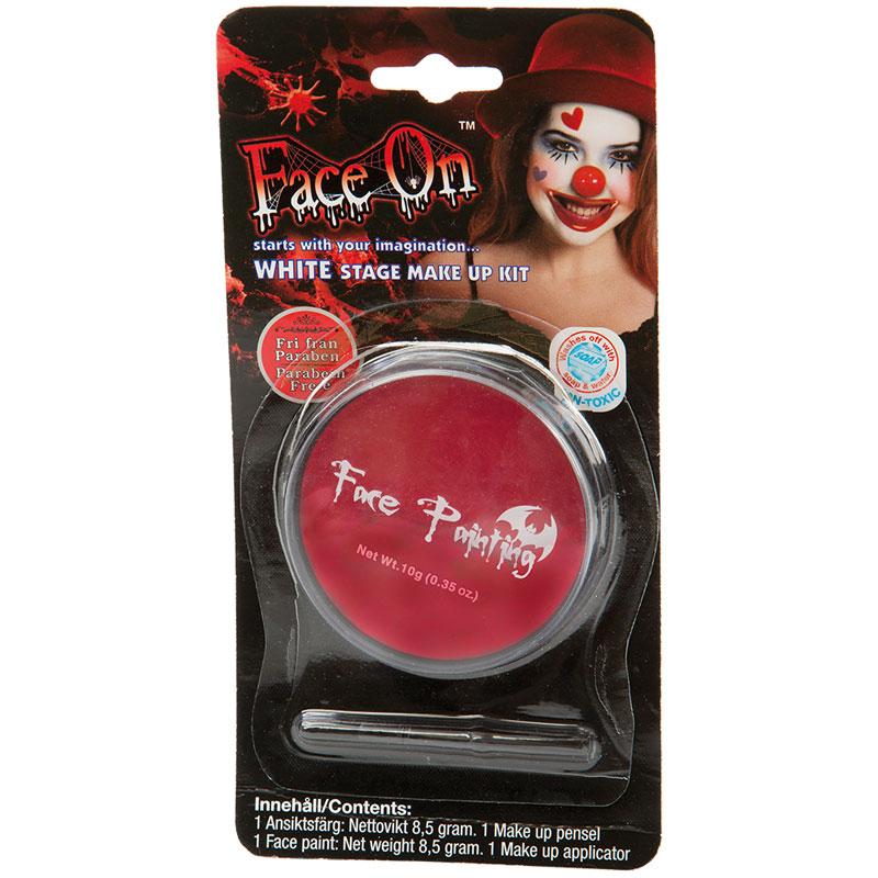 Face-On Röd Ansiktsfärg