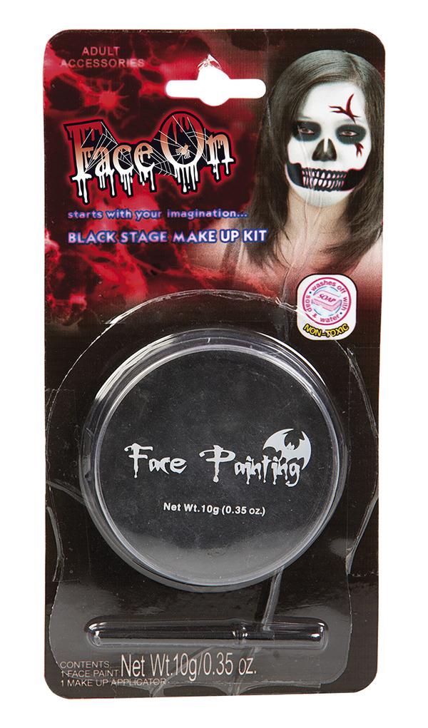 Face-On Svart Ansiktsfärg