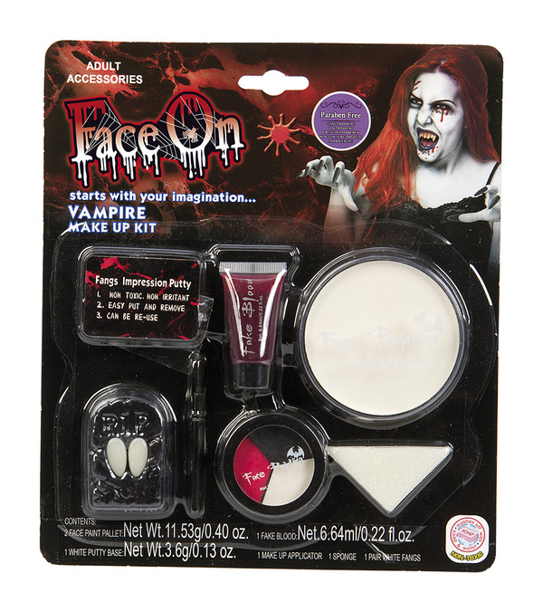 Face-On Vampire Makeup