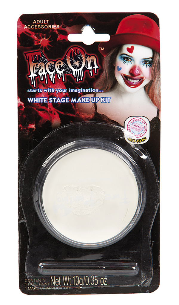 Face-On Vit Ansiktsfärg