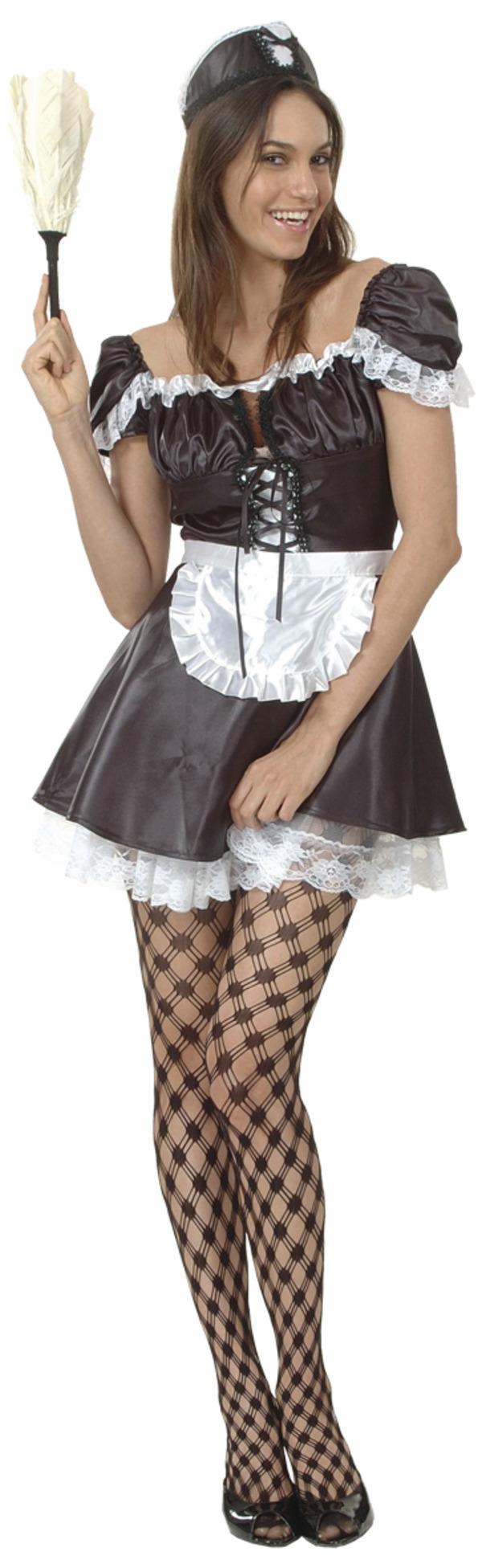 French Maid Maskeraddräkt Budget