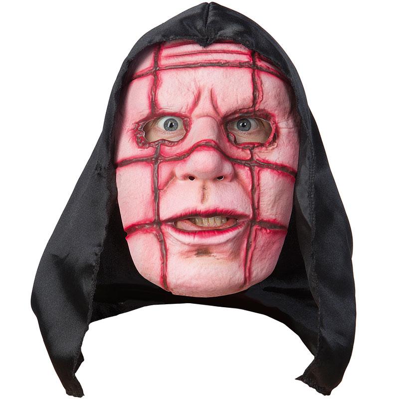 Galen Gubbe Mask med Huva