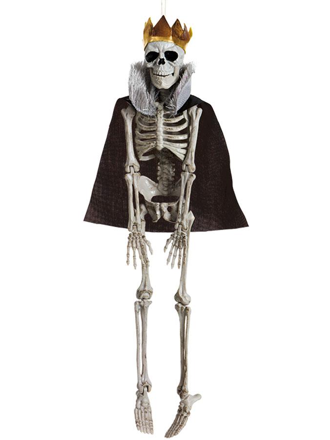 Hängande Skelett Kung Prop
