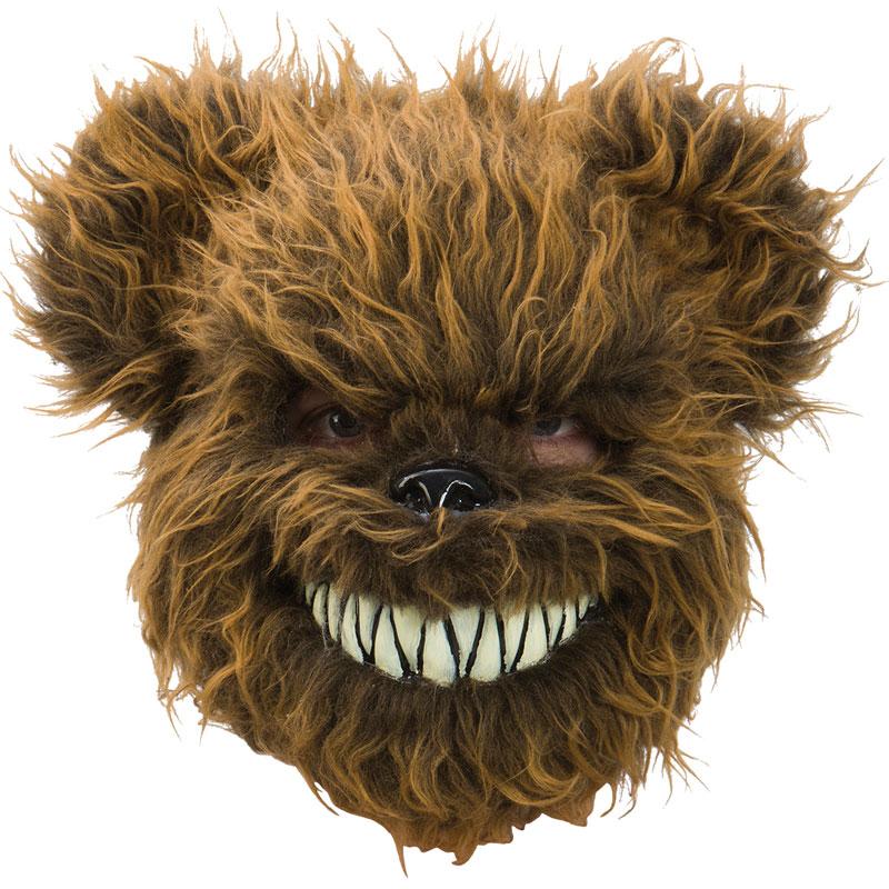 Ondskefull Nallebjörn Mask Brun