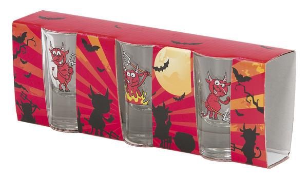 Shotglas Djävulen 3-Pack