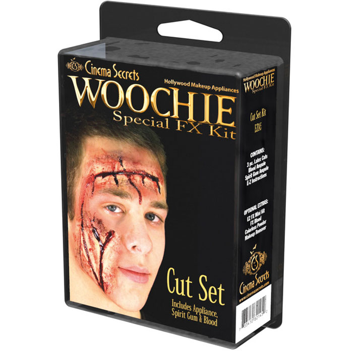 Woochie Fake Sår Cut Set Fx-Kit