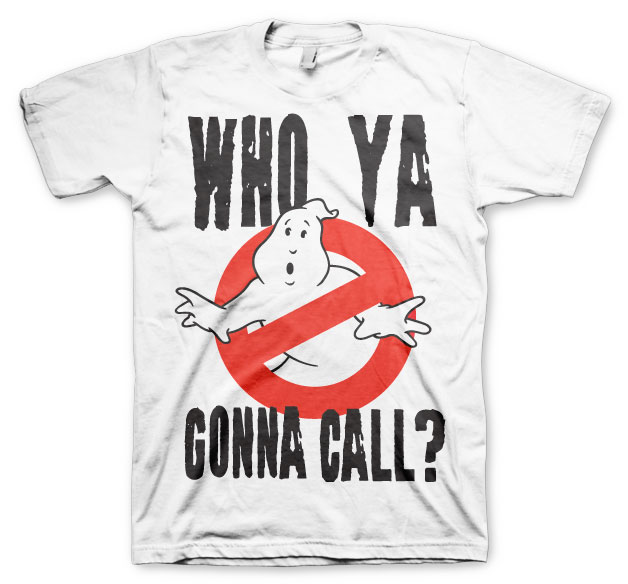 Ghostbusters Who Ya Gonna Call T-shirt (Small)