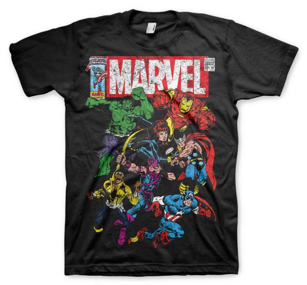 Marvel Comics Team Up T-shirt (Small) thumbnail