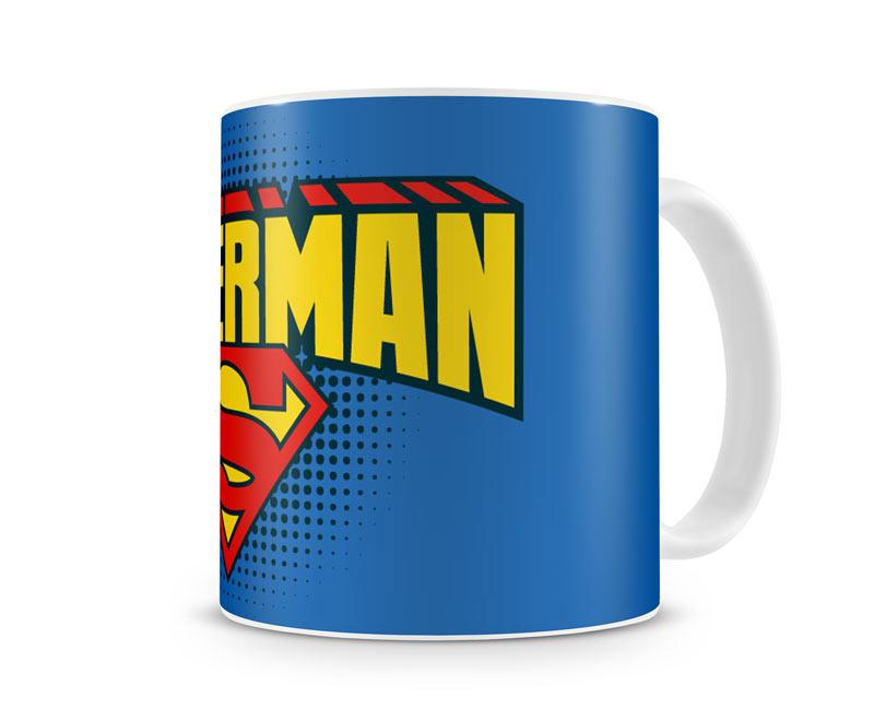 Superman Mugg Blå thumbnail