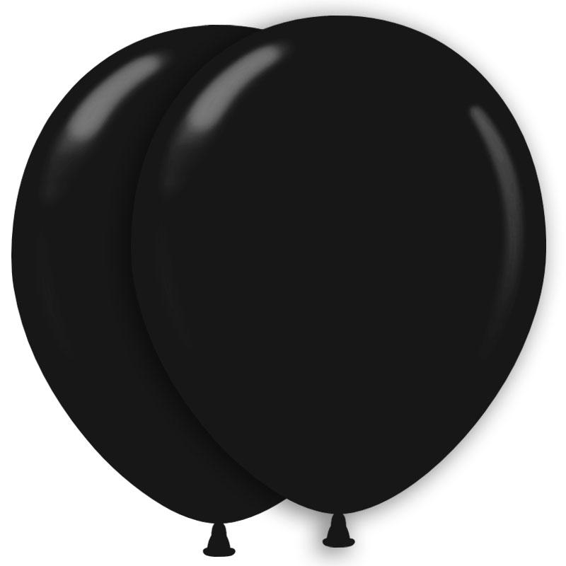 Ballonger Svarta (10-pack)