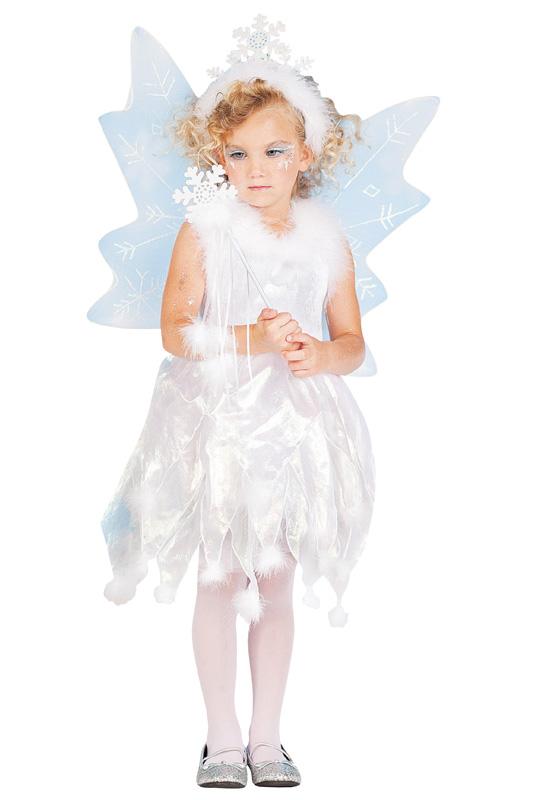 Ängel Klänning Barn Maskeraddräkt (Small)