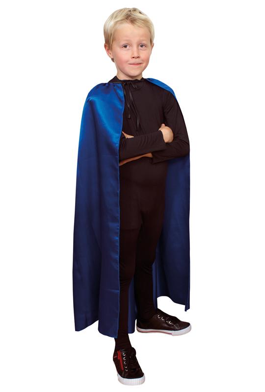 Blå Cape för Barn