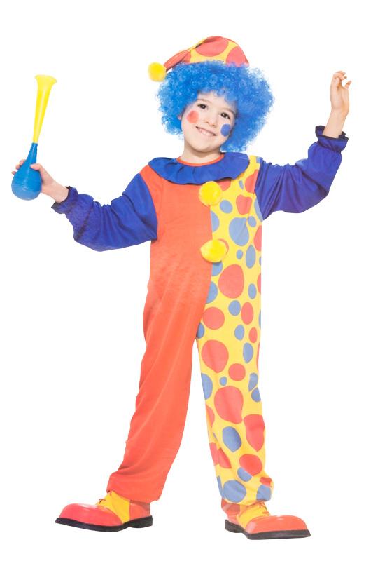 Clown Barn Maskeraddräkt (Small)