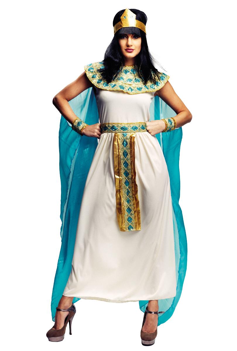 Drottning Cleopatra Klänning Maskeraddräkt