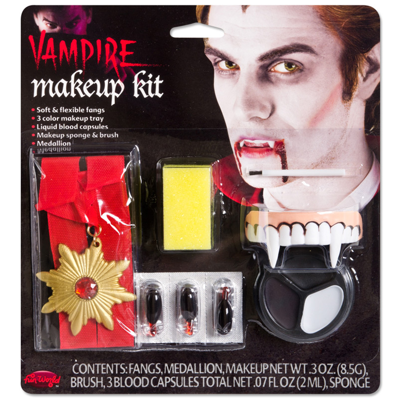 Gotisk Vampyr Smink Tillbehörskit