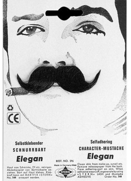 Mustasch Elegant