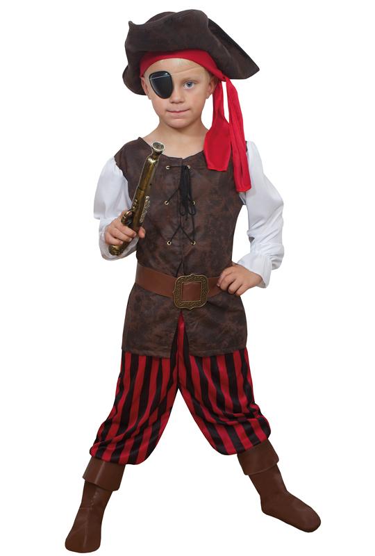 Piratpojke Barn Maskeraddräkt (Small)