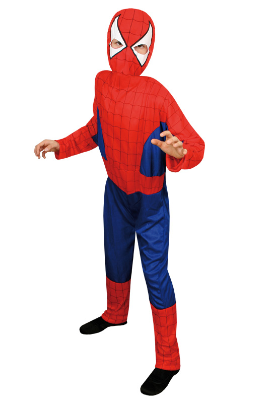 Spiderman Barn Maskeraddräkt Budget (Small)