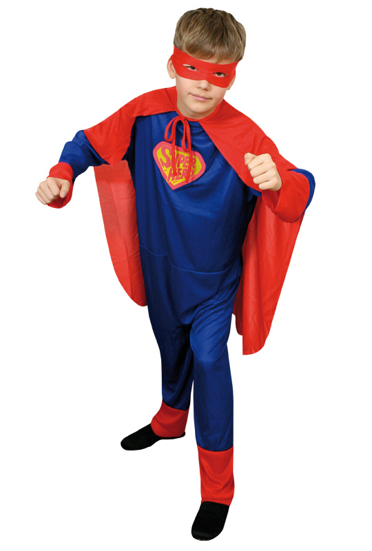 Superman Barn Maskeraddräkt Budget (Small)