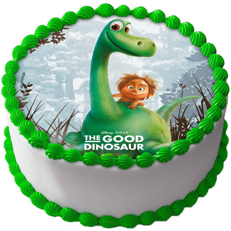 Dinosaurie - Den Gode Dinosaurien Tårtbild B