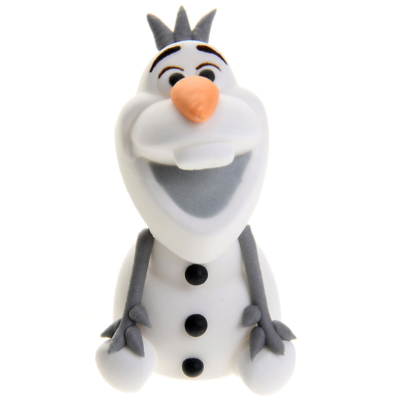Frost Olaf Sockerdekoration