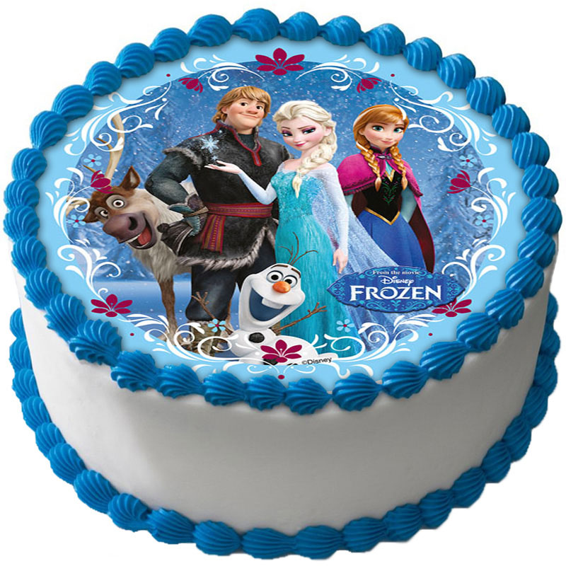 Frozen Tårtoblat Sockerpasta A