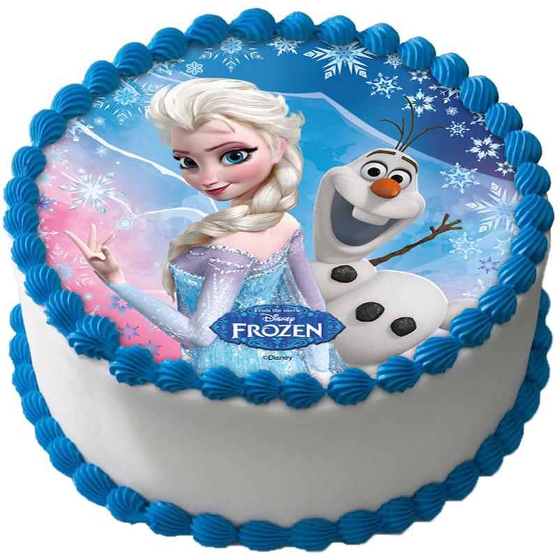 Frozen Tårtoblat Sockerpasta C