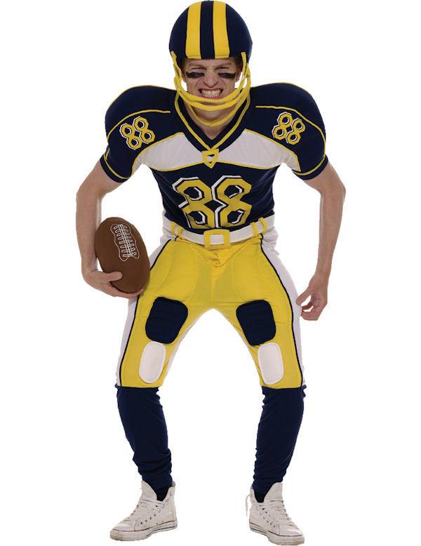 Amerikansk Fotbollsspelare Maskeraddräkt (Standard)