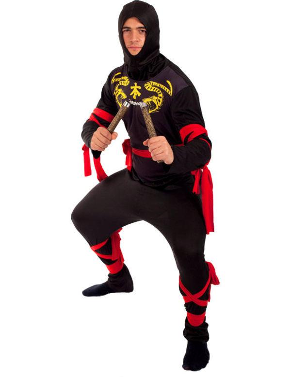 Ninja Maskeraddräkt (Standard)