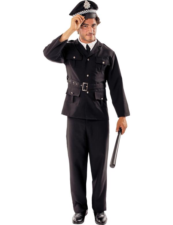 Polisman Maskeraddräkt (Standard)