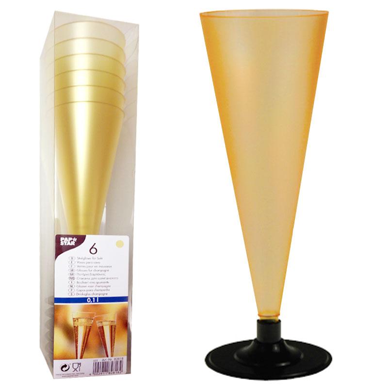 Champagneglas Guld Luxuös