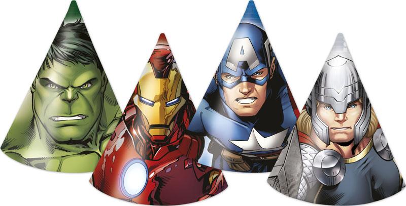 Avengers Heroes Partyhattar
